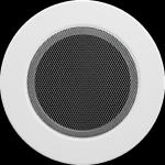 KRATKA kominkowa okrągła biała  fi 125