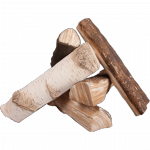 Elementy ozdobne, drewienka ceramiczne MIX