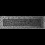 KRATKA kominkowa 11x42 czarno-srebrna