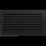KRATKA kominkowa FRESH  czarna 17x30