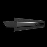 Kratka kominkowa LUFT czarny 6x40
