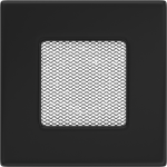 KRATKA kominkowa 11x11 czarna