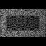 KRATKA kominkowa 11x17 czarno-srebrna