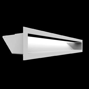 Kratka kominkowa LUFT biały 9x60
