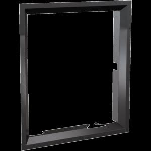 Ramka stalowa do wkładu NADIA 8 po przełożeniu drzwi