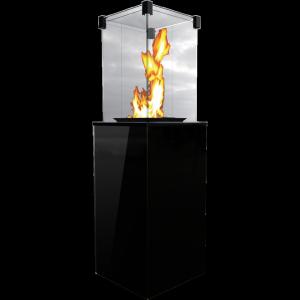 Ogrzewacz gazowy PATIO szkło/czarny - sterowanie manualne