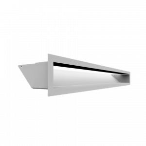 KRATKA kominkowa LUFT biały 9x80