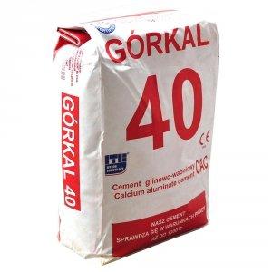 Cement ogniotrwały Górkal 25 kg