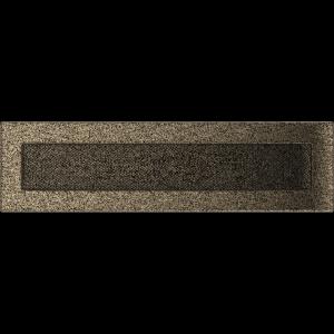 KRATKA kominkowa 11x42 czarno-złota