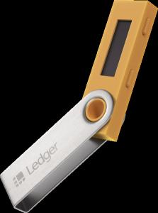 Ledger Nano S - pomarańczowy