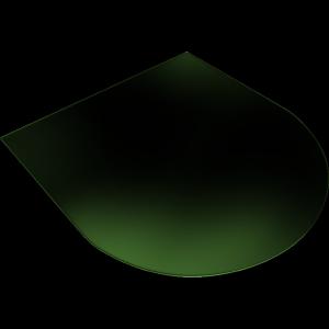 Podstawa szklana ATHINA pod piec wolnostojący