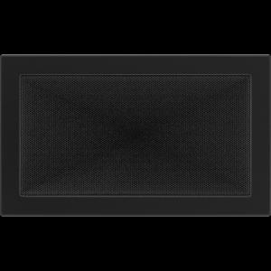 KRATKA kominkowa 22x37 czarna