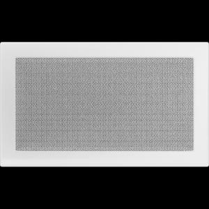 KRATKA kominkowa 22x37 biała