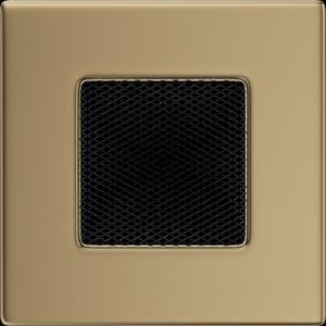 KRATKA kominkowa 11x11 złoto galwaniczne