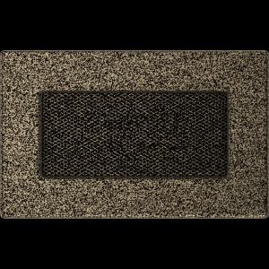 KRATKA kominkowa 11x17 czarno-złota