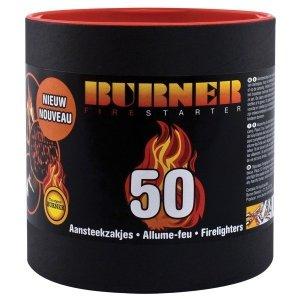 Podpałka BURNER w tubie - 50szt.