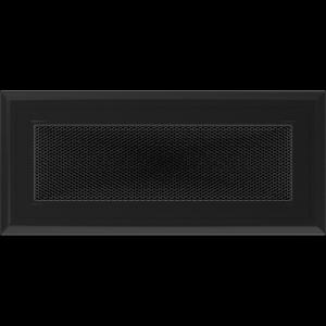 KRATKA kominkowa OSKAR 11x24 czarna