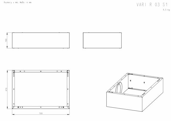 ROMOTOP Variant 03 R + moduł górny