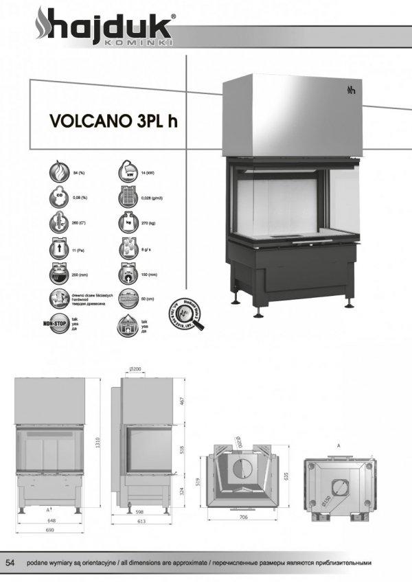 HAJDUK Volcano 3PLh