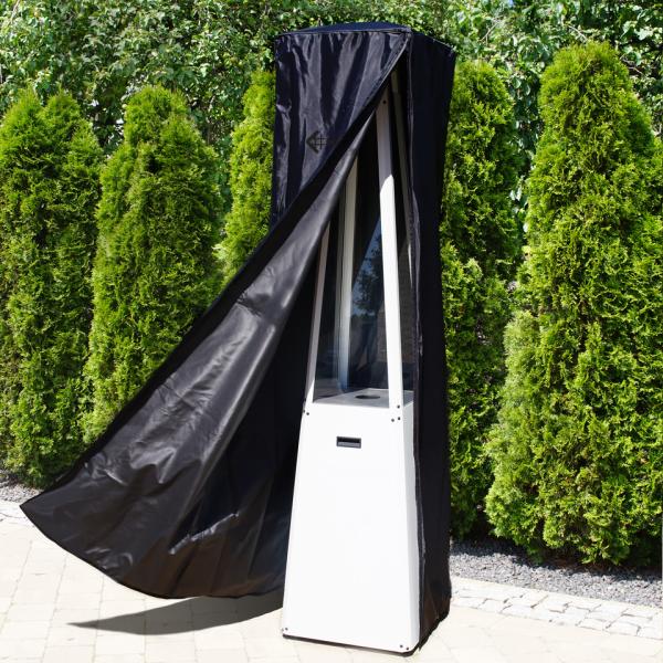 Pokrowiec na ogrzewacz gazowy UMBRELLA czarny logo białe/czarne