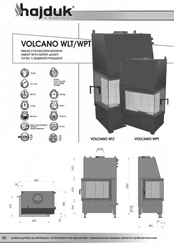 HAJDUK Volcano WLT