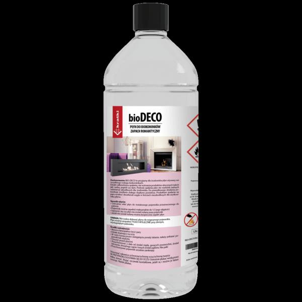 Płyn zapachowy do biokominków ROMANTYCZNY - 1l