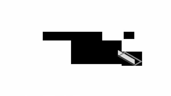 Przeszklenie biokominka CHARLIE 2