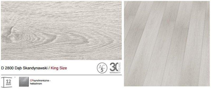 KRONOPOL - panele podłogowe D 2800 Dąb Skandynawski / King Size