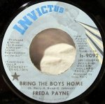 Freda Payne - Bring The Boys Home / I Shall Not Be Moved (7)