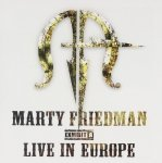 Marty Friedman - Exhibit A - Live In Europe (CD)