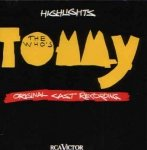 The Who's Tommy - Original Cast Recording Highlights (CD)