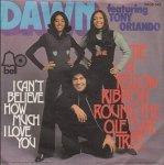 Dawn Ft. Tony Orlando - Tie A Yellow Ribbon Round The Ole Oak Tree (7'')