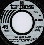 Chaplin Band, American Gypsy - Madmen's Discotheque, Water Boy (7'')