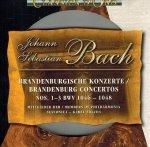 Bach - Brandenburgische Konzerte Nos. 1-3 BWV 1046-1048 (CD)
