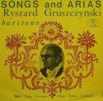 Ryszard Gruszczyński, Polish Radio Orchestra, Stefan Rachoń - Songs And Arias (LP)