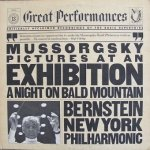 Mussorgsky : Bernstein, New York Philharmonic - Pictures At An Exhibition / A Night On Bald Mountain (LP)