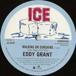 Eddy Grant - Walking On Sunshine (12'')