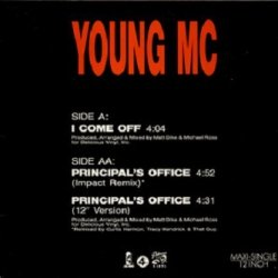 Young MC - I Come Off / Principal's Office (12'')