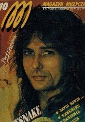 Magazyn Muzyczny Nr 10 (368) Październik 1989