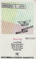 Aerosmith - Live! Bootleg (MC)
