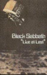 Black Sabbath - Live At Last (MC)