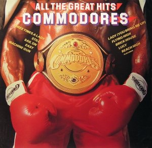 Commodores - All The Great Hits (LP)