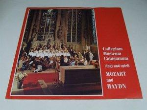 Collegium Musicum Canisianum Singt und spielt Mozard Und Haydn (LP)