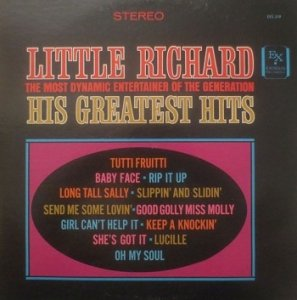 Little Richard - The Most Dynamic Entertainer Of The Generation : His Greatest Hits (LP)