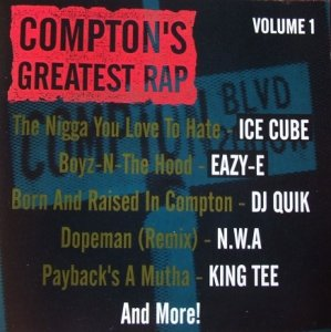 Compton's Greatest Rap Volume 1 (CD)