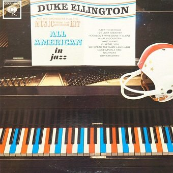 Duke Ellington And His Orchestra - All American In Jazz (LP)