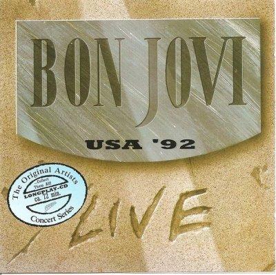 Bon Jovi - USA ' 92 - LIVE (CD)
