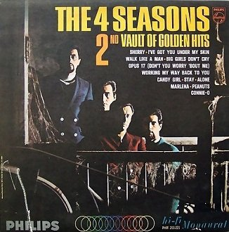 The 4 Seasons - The 4 Seasons' 2nd Vault Of Golden Hits (LP)