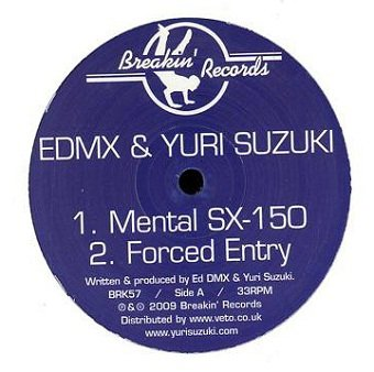 EDMX, Yuri Suzuki & Qwerty - Untitled (12'')