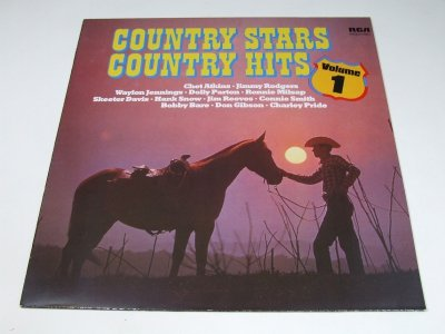 Country Stars - Country Hits - The Country Stars The Country Hits (LP)
